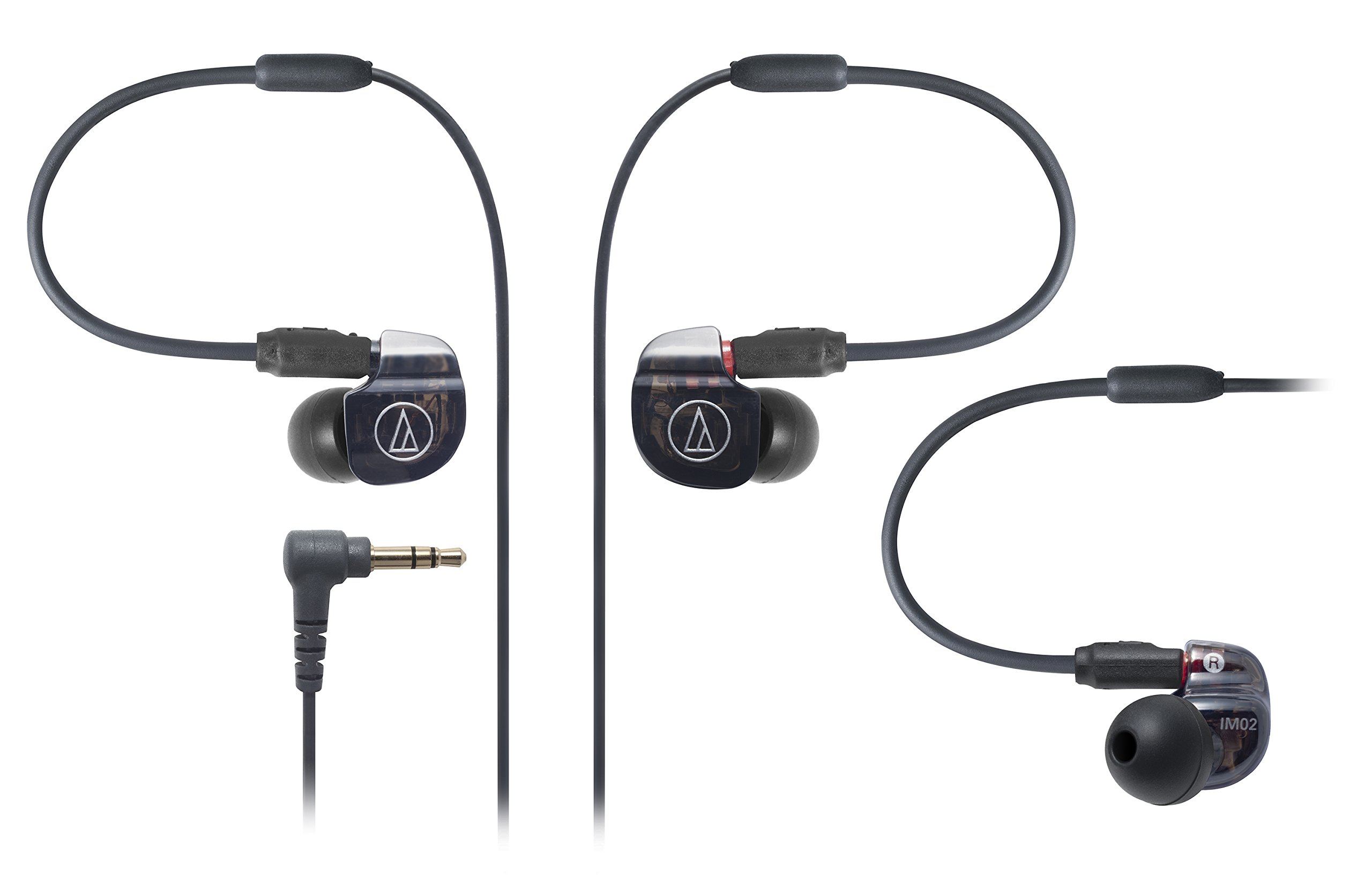 Audio Technica ATH-IM02 SonicPro Balanced In-Ear Monitor Headphones