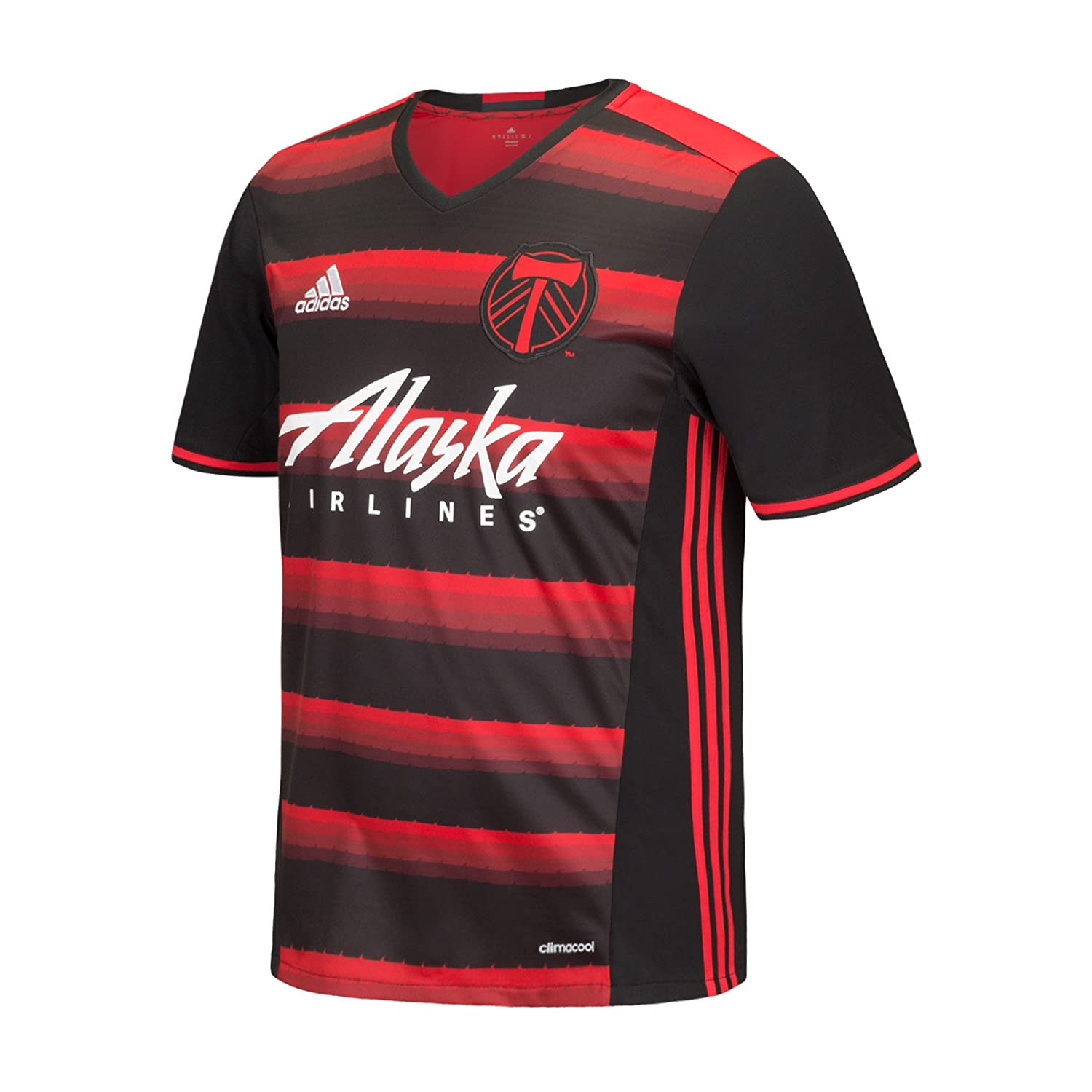 f75298d5615 Amazon.com : adidas MLS Teen-Boys Replica Short Sleeve Team Jersey :  Clothing