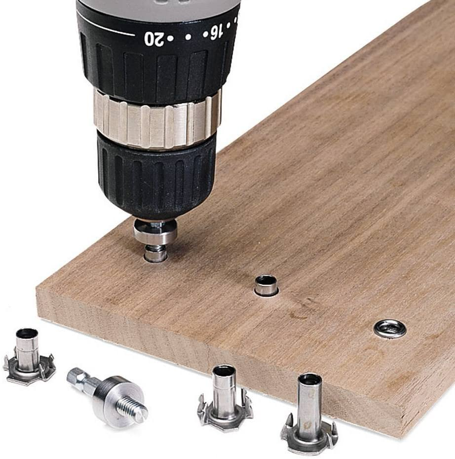 Riveting T-nut for 1//2 Thick Material 10 per Pack