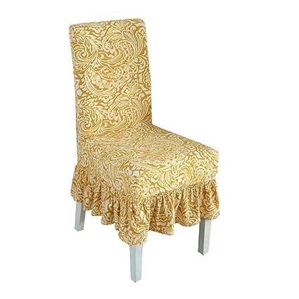 Strange Deisy Dee Strecth Print Pattern Ruffled Long Skirt Dining Chair Covers Slipcovers C100 Style 5 Ibusinesslaw Wood Chair Design Ideas Ibusinesslaworg