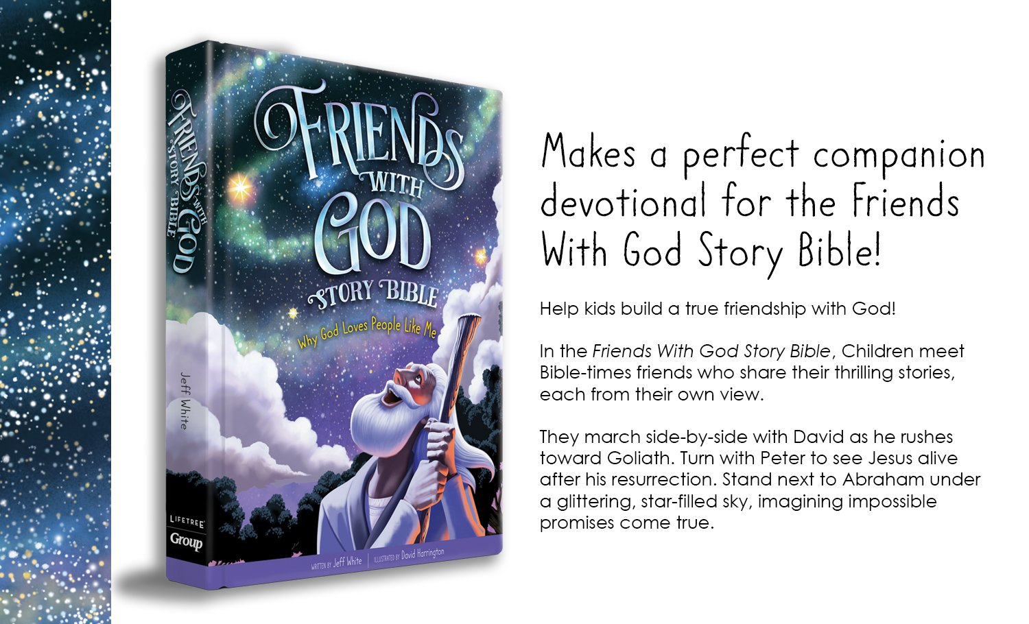 Friends With God Devotions for Kids: 54 Delightfully Fun Ways to Grow  Closer to Jesus, Family, and Friends: Mikal Keefer, David Harrington:  9781470748623: ...