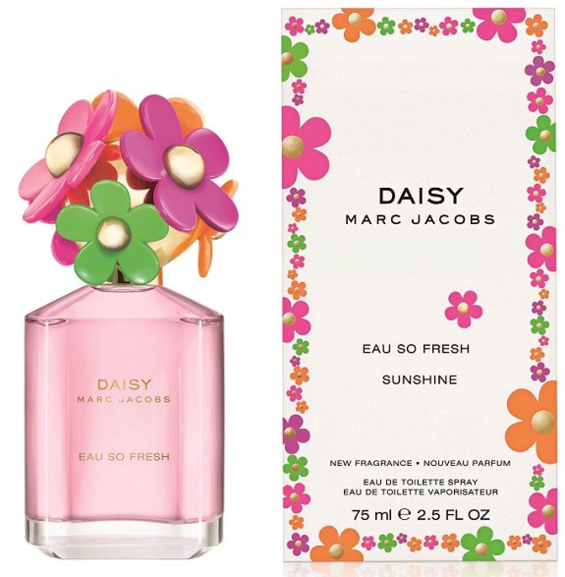 Marc Jacobs Eau de Toilette Spray, Daisy So Fresh Sunshine, 2.5 Ounce