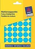 Avery Zweckform Pastilles Adhésives Diamètre 18 Mm Bleues Contenu: 1056 Etiquettes (3375)