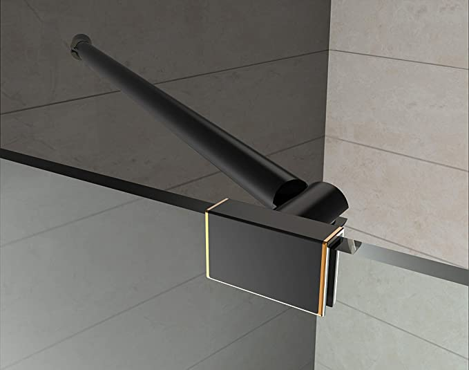 Aston Neoscape 42 X 42 X 72 Completely Frameless Neo Angle Shower Enclosure Brushed Stainless Steel