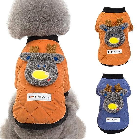 Zolimx Perro Mascota Cachorro Raya Camiseta Ropa Perro ...