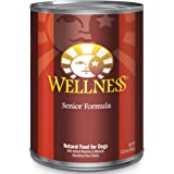 Wellness Complete Health Natural Wet Canned Senior Dog Food, Chicken & Sweet Potato, 12.5-Ounce Can (Pack of 12)
