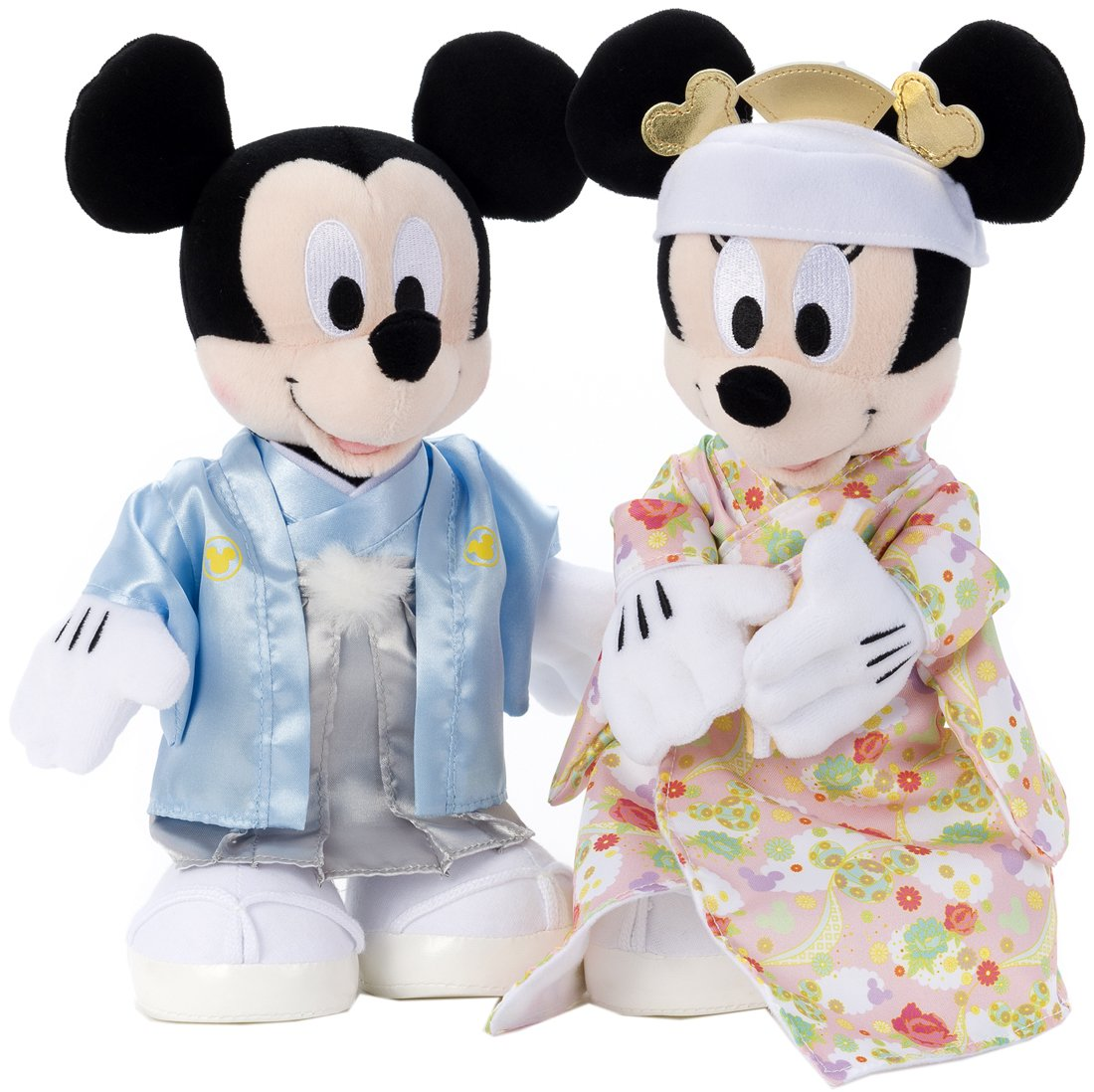 Amazon.com: Bridal Disney / Mickey Mouse u0026 Minnie Mouse Kimono ...