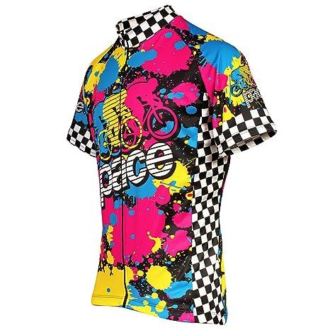 Amazon.com   Pace Sportswear Euro Peloton Jersey   Sports   Outdoors e0fd04a5b