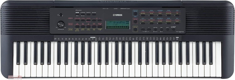 Yamaha PSRE-273 - Teclado Digital portátil para principiantes ...