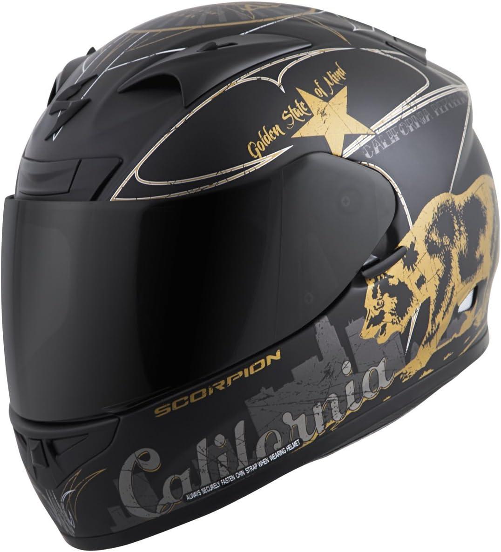 Scorpion EXO-R710 Golden State Street Motorcycle Helmet