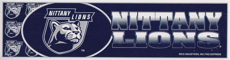 Rico Industries Penn State Bumper Sticker