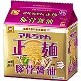 マルちゃん正麺 豚骨醤油 5食パック 101g×5食×6個