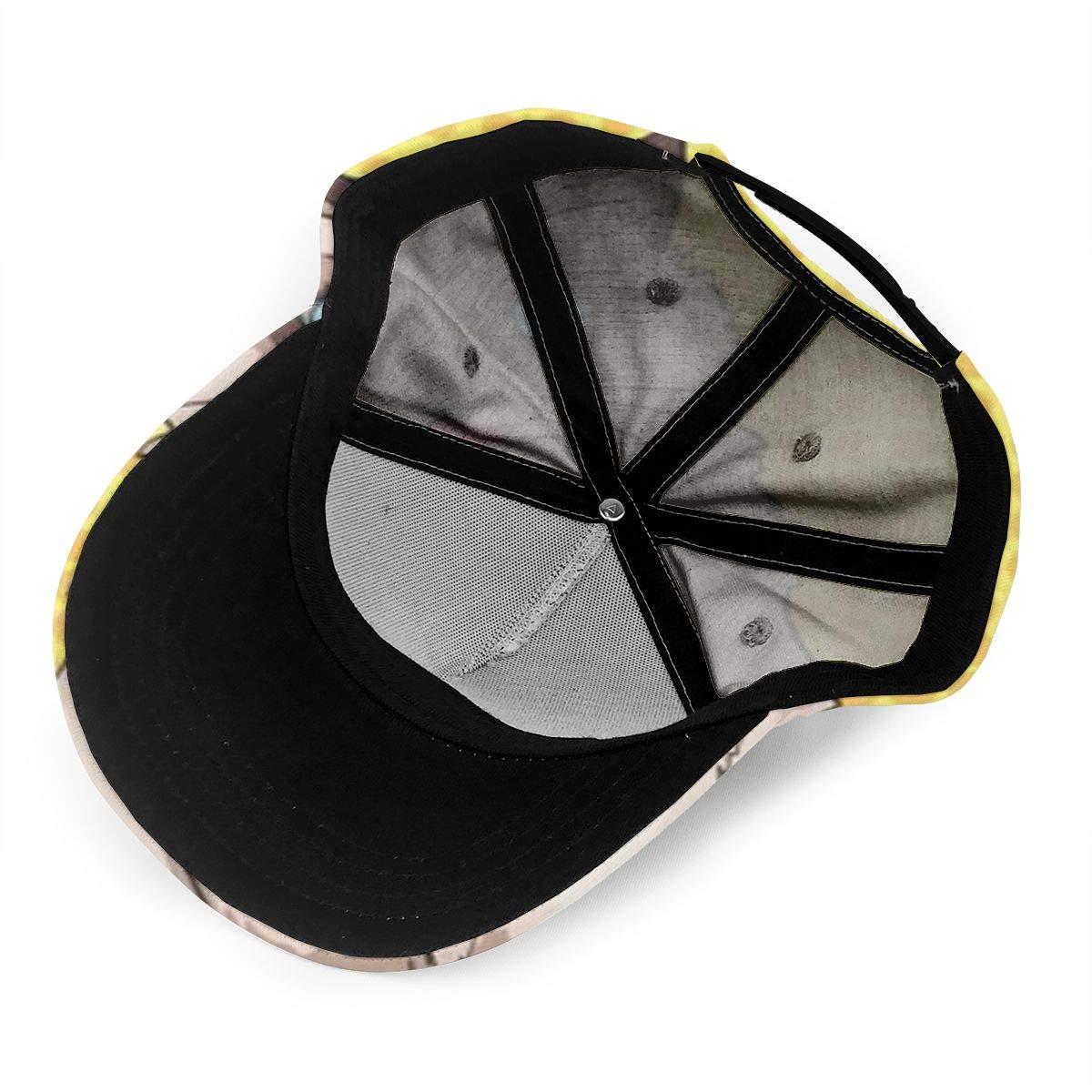 SKOKT Pet Siamese Printing Fashion Classic Baseball Cap Unisex Adjustable Velcro
