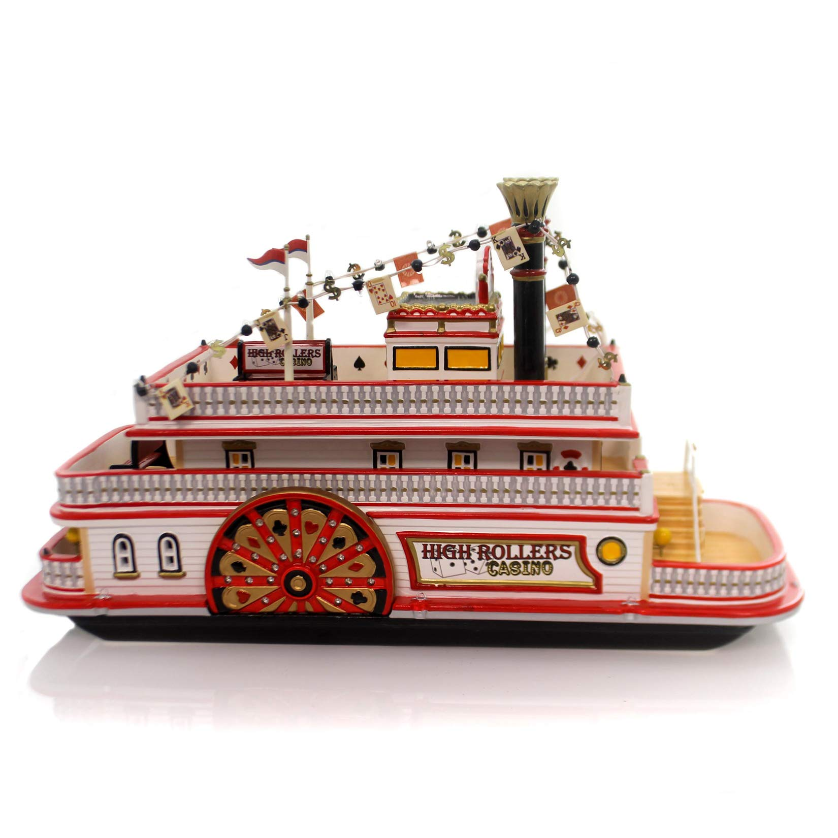 Department 56, Snow Village Series, ''High Rollers Riverboat Casino''