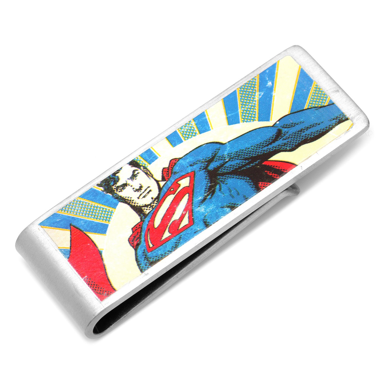 Officially Licensed DC-VSUP-MC DC Comics Vintage Superman Money Clip