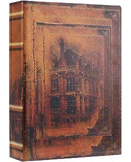 Box 25cm Weltkarte Zahlmappe Buchattrappe Schmucketui Buchsafe Henricus Hondius