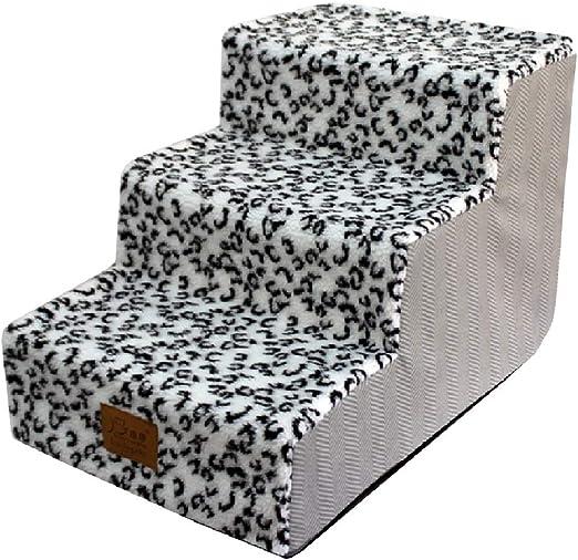Escalera de Mascota Escaleras Perro for Alta Cama/sofá/un sofá-pequeño Perrito Rampa - Pasos for Mascotas Escalera for Perros y Gatos, Lavable Cubierta, 40x60x40cm (Color : Style-1): Amazon.es: Hogar