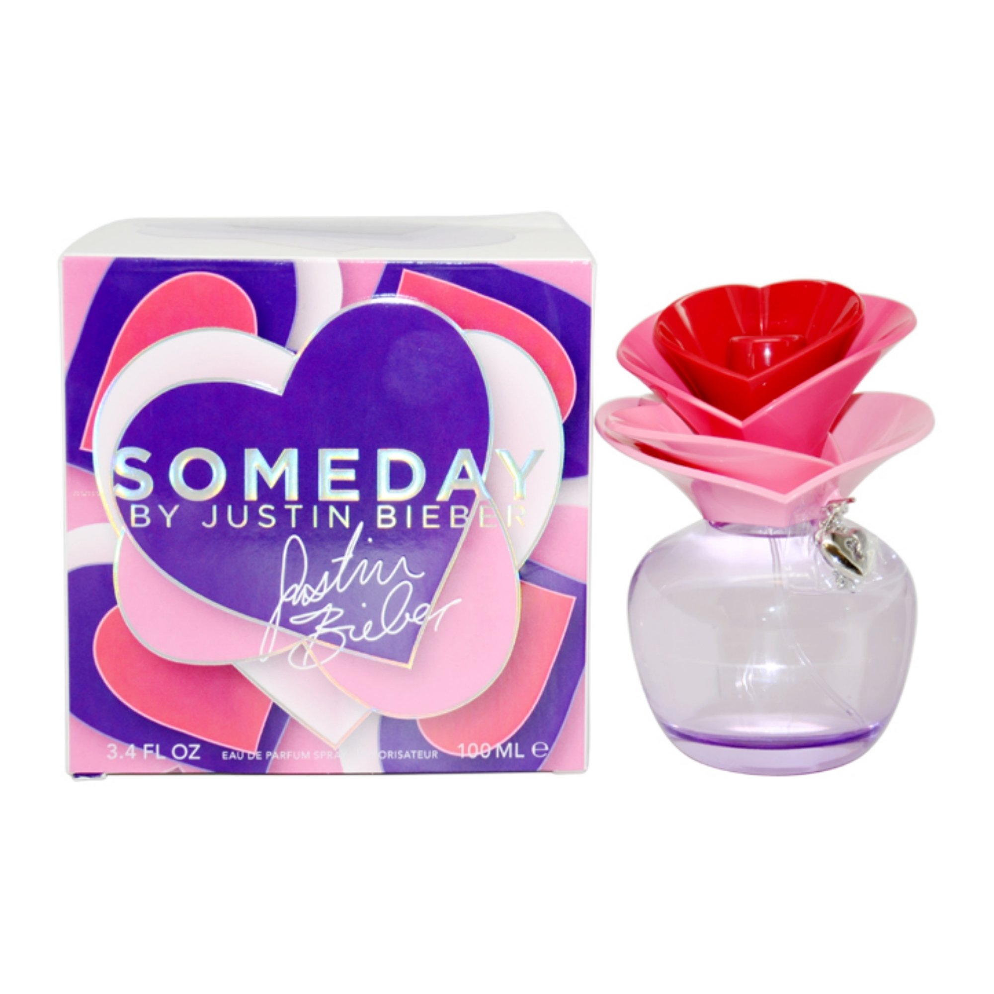 Justin Bieber Someday, Eau De Parfum Spray,100ml/3.4 oz.