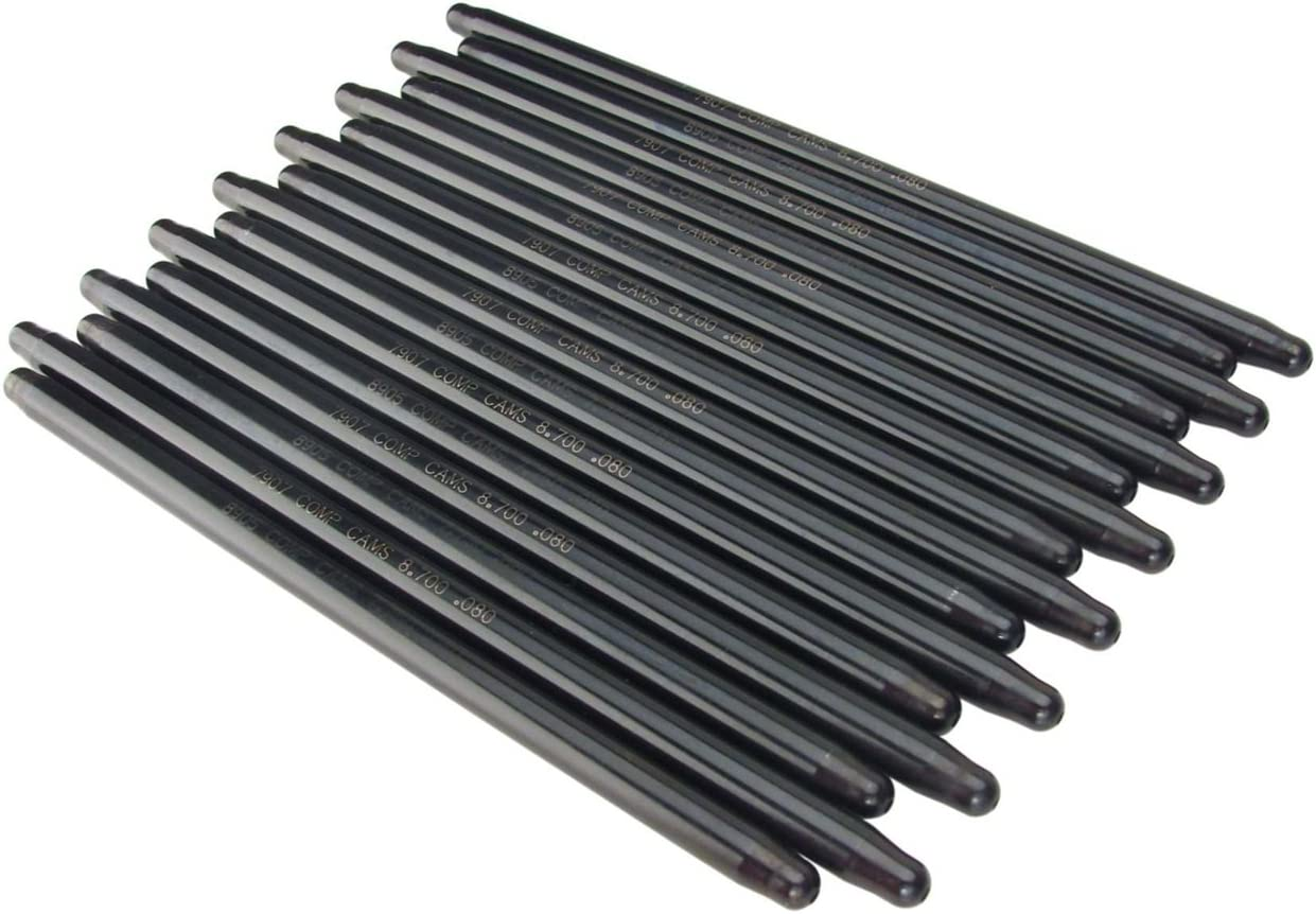 Hi-Tech 7.250 Long 5//16 Diameter Pushrod Set .080 Wall