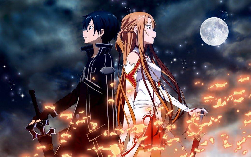 Sword Art Online Anime Silk Poster 24x36inch SAO 01