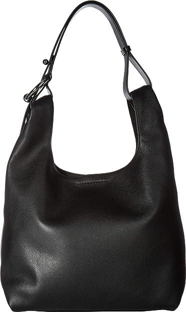 b82dafb7bf8 Amazon.com  Rebecca Minkoff Women s Karlie Hobo Black One Size  Shoes