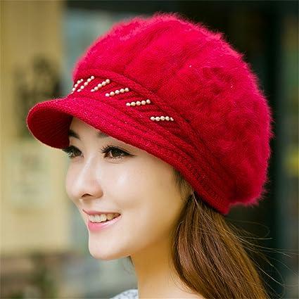 b6a81e17c9beb Novia novio regalos de vacacionesNovia novio regalos de vacaciones Un  sombrero de mujer Lady Winter tejer
