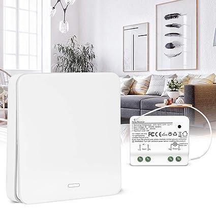 Wondrous Yissvic Wireless Lights Switch Wall Switch Kit No Battery Self Wiring Cloud Hisonuggs Outletorg