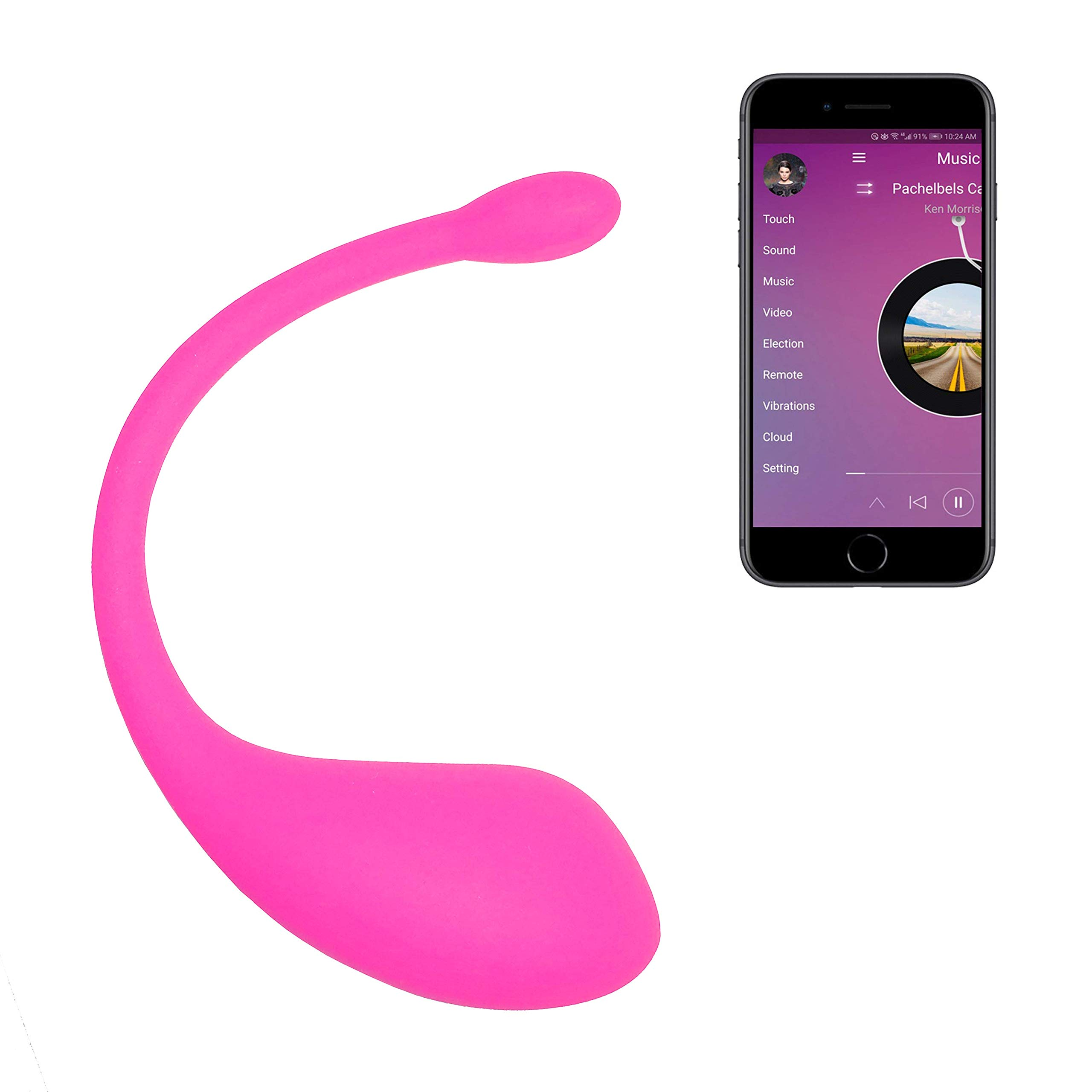 LOVEAI Wearable Vibes, Smart App Bluetooth Remote Control Waterproof Massager