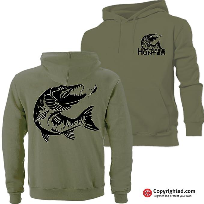 16aa3d088 QBEC PIKE HUNTER hoodie FREE UK DELIVERY!!! ...: Amazon.co.uk ...