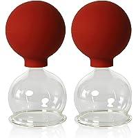 Vasos para ventosaterapia, de la marca Lauschaer Glas.