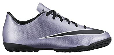 Nike Youth Mercurial Victory V Turf Shoes [Urban Lilac/Bright Mango/Black]