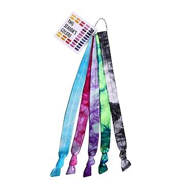 Amazon.com: Esta Temporada en la Colores Tie Dye no Pliegue ...