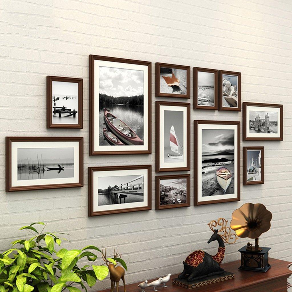 Foto Wandrahmen 12 Teile/Satz DIY Bilderrahmen Sets Für Wand Familie ...