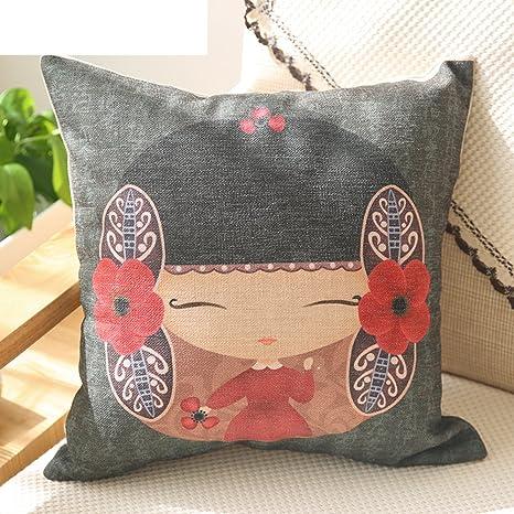 almohada de algodón/Amortiguador/ cojines de sofá/ Oficina ...