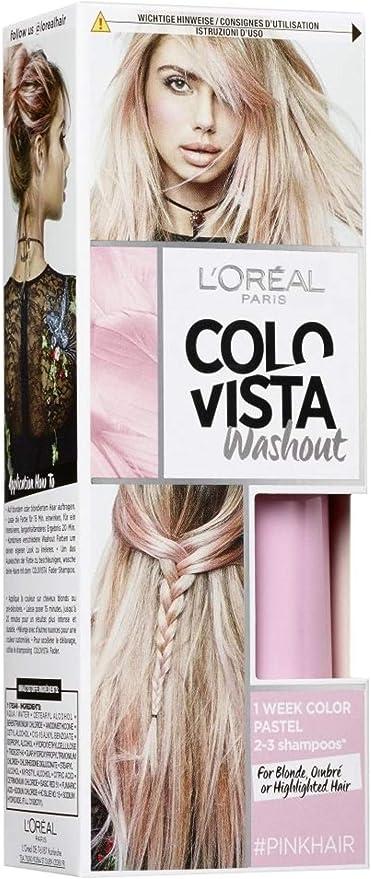 Loréal Colovista fließende Seigkeit - Tinte para el cabello de color rosa número 2