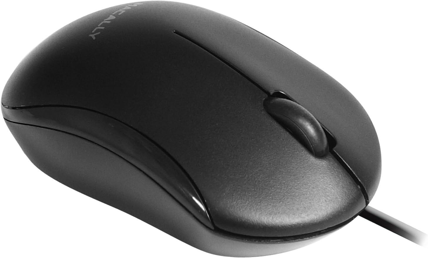 Mouse con cable USB ergonómico de 3 botones-PK31