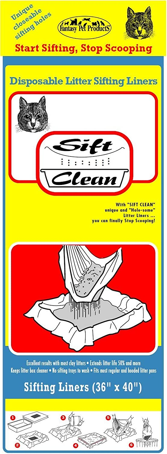 Sift Clean Liners (36in x 40in)