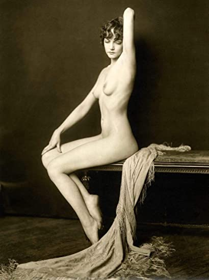 Vintage nude pin up naked