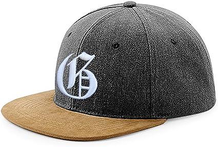 Snapback - Gorra de béisbol de tela, diseño con logo en 3D con ...