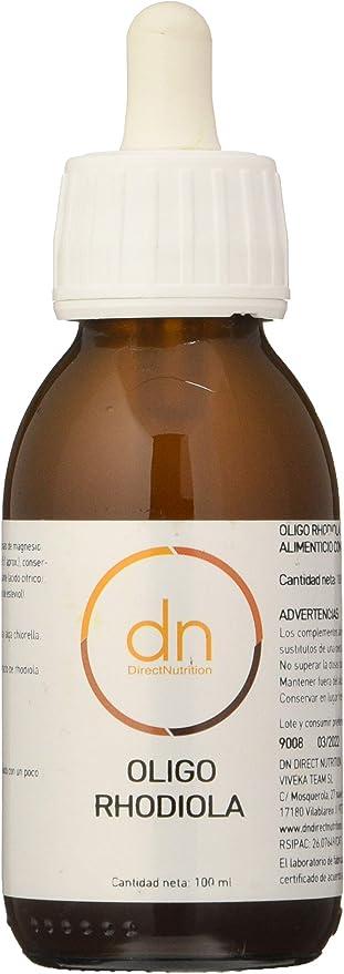 Direct Nutrition Oligo Rhodiola 100 ml - 1 unidad: Amazon.es ...