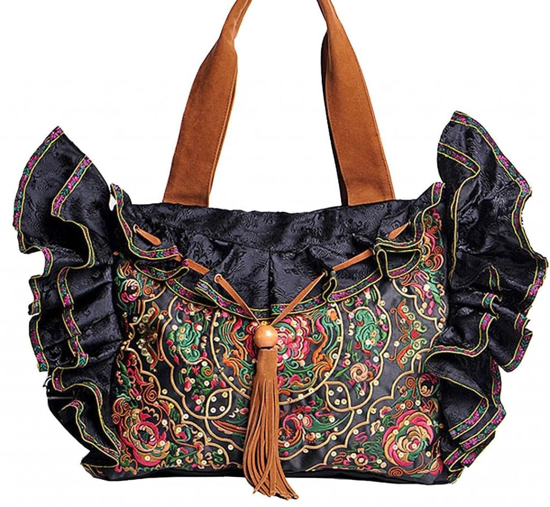 1c40dc155dd97 Online-Shop Zum Verkauf Interact China 100% Handgemachte Umhängebeutel  Bunte Bestickte Orientalische Damen Tasche