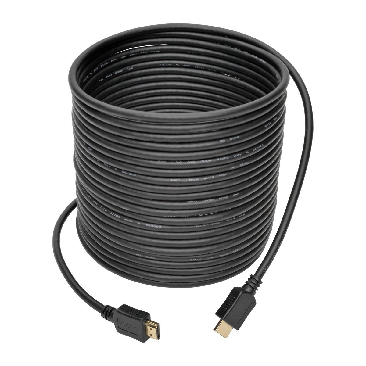 Tripp Lite Cable HDMI de Alta Velocidad, con Video Digital y Audio, Ultra HD 4K x 2K (M/M), Negro, 12.2 m [40 pies]: Amazon.es: Electrónica