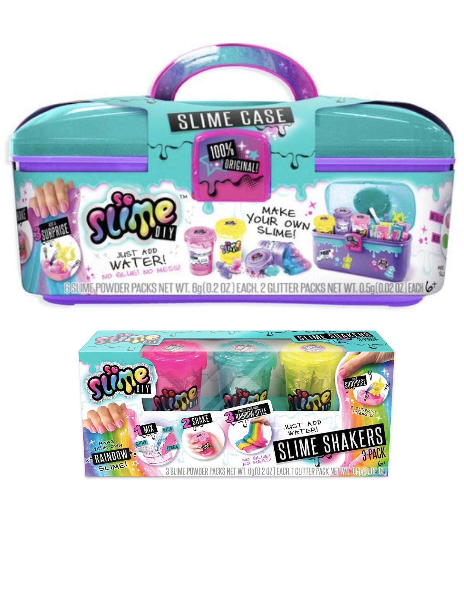 So Slime DIY Slime Case Storage Set + Rainbow Slime Three Pack! by So Slime (Image #1)