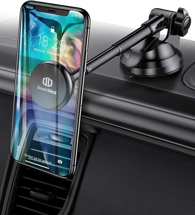 Desertwest Magnetische Handy Halterung Für Das Armaturenbrett Handy Halterung Kompatibel Mit Iphone Samsung Huawei Google Lg Und Anderen Smartphones Elektronik
