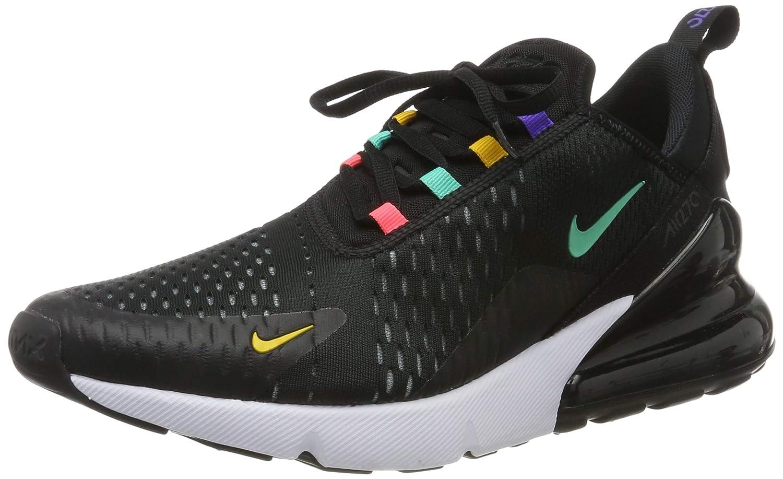 nike air max 270 scarpe da ginnastica basse uomo nere