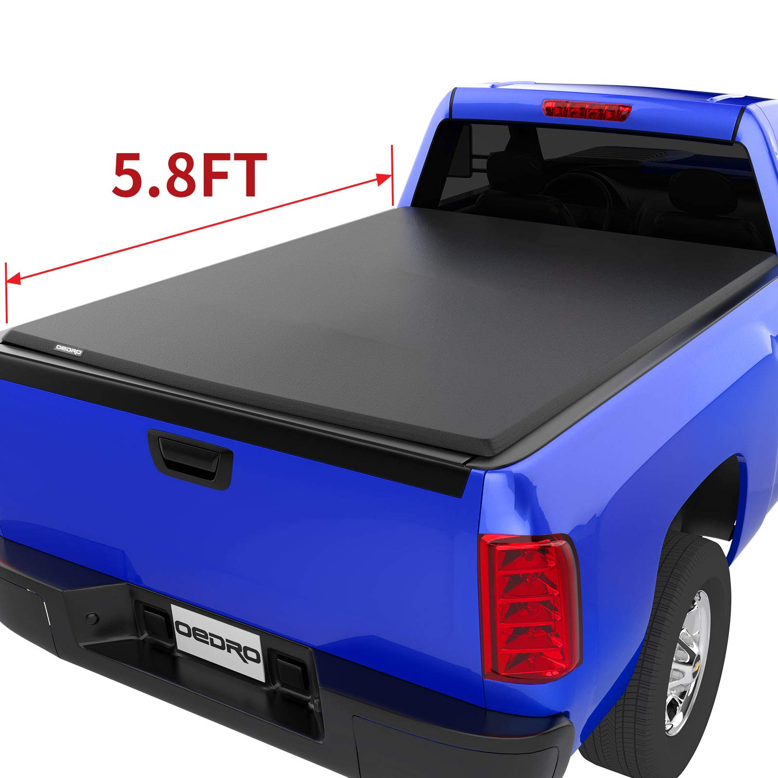 Oedro Soft Roll Up Tonneau Cover Compati Buy Online In Brunei At Desertcart