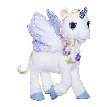 Amazon Com Furreal Starlily My Magical Unicorn Interactive Plush