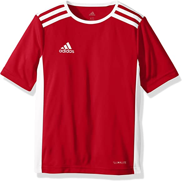 68b0d11bcb5f6 Amazon.com : adidas Youth Entrada 18 Jersey, Power Red/White, XX-Small :  Clothing