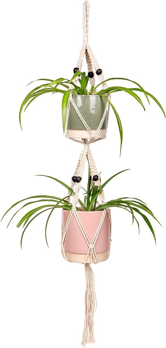 Demarkt Hangeampel Keramik Blumentopf Hangend Wand Vase Blumenampel Deko Fur Sukkulenten Kaktus 1 Stuck