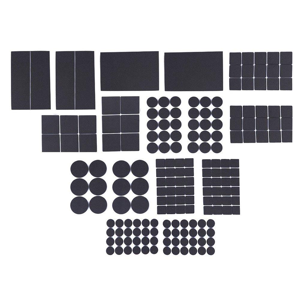 ziomee ligero reducido antideslizante Muebles Almohadillas De Goma, resistente adhesivo Muebles Pierna pads-soft piso pantalla sin arañazos para baldosas, ...